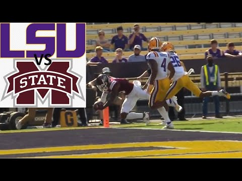 Mississippi State vs LSU Football Game Highlights 9 26 2020
