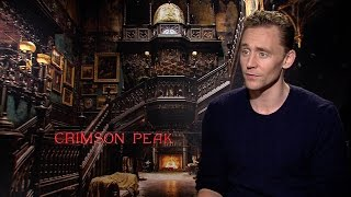 Tom Hiddleston on Victorian Sexuality in 'Crimson Peak'