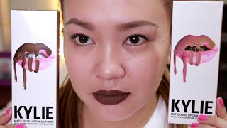 Kylie Lip Kit First Impression Review + Dupes!