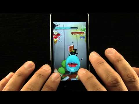 HungryMouth HD iPhone App Demo