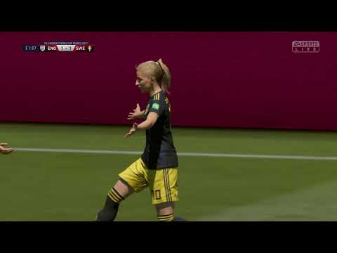 FIFA 19 - Bronze Medal Match England vs Sweden 2019 Women's World Cup France - Full Match