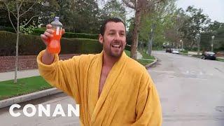 Adam Sandler Hunts Down Conan In Los Angeles