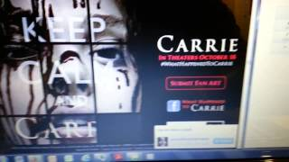 CARRIE In Theaters October 18. Call Carrie Today (855) 5CA-RR1E