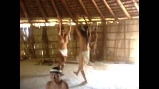 Danza Taíno en Chorro de Maíta en Holguín