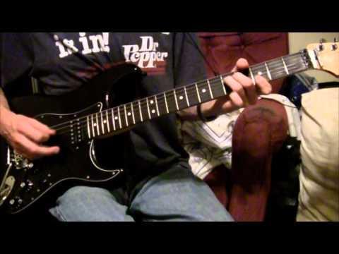 Sting - The Wild Wild Sea (Guitar cover)