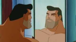 How Superman shaves