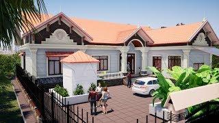 Mẫu Nhà Cấp 4 Đẹp 4 Phòng Ngủ Giá 800 Triệu Tại Vĩnh Bảo Hải Phòng