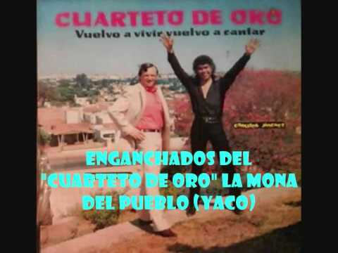 LA MONA JIMENEZ-ENGANCHADOS CUARTETO DE ORO. (YACO)