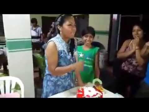 cumpliaño de Lourdes Colque Chambi en santa cruz de la sierra Bolivia 2016