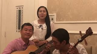 Danh cầm Hoàng Vũ- Lê Của- Hữu Quí- Ns Thu Vân với lớp trích đoạn Lệnh Truy Nã