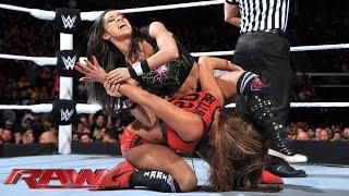 AJ Lee & Naomi vs. The Bella Twins – WWE App Vote Match: Raw, December 1, 2014