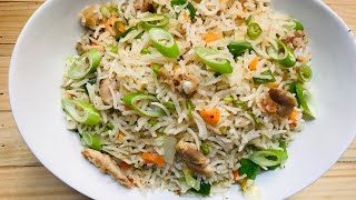Fried rice| Restaurant style chicken fried rice