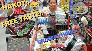 BUHAY AMERIKA:HAKOT SA GROCERY NG FREE TASTE!! :D