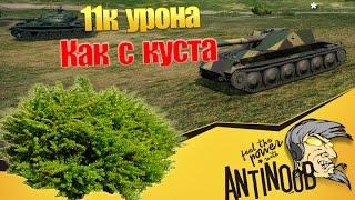 11к урона как с куста World of Tanks (wot)