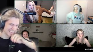 xQc Reacts to Livestream FAILS!