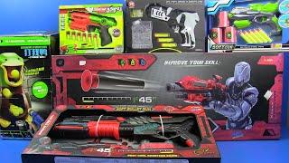 Box of Toys ! Big Guns Toys Soft Bullet Gun -Duck Target Air Powered Gun Toy