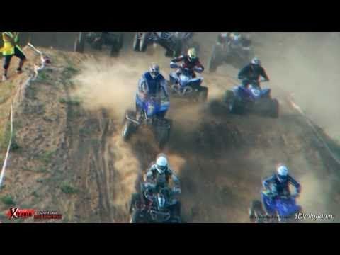 Мотокросс в Харовске 3D. 2010.