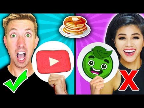 PANCAKE ART CHALLENGE! Learn How To Make Guava Juice, Matthias, Papa Jake in REAL LIFE DIY Pancake!