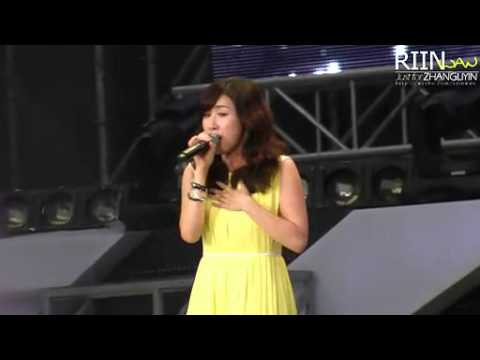 Zhang Li Yin - I Will (12082012 SMTOWN Live World Tour III - Seoul)