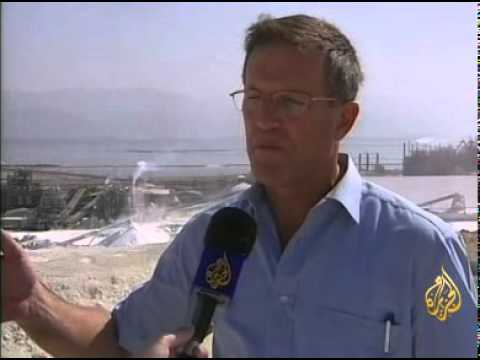 Water Degradation in the Dead Sea, Jordan