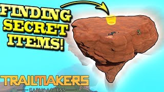 FINDING SECRET PARTS AND BALL CHALLENGES! - Trailmakers Multiplayer Gameplay Ep2