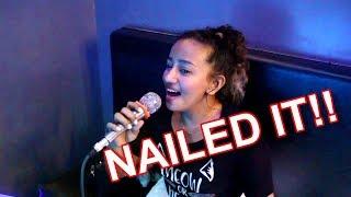 Liezel Garcia Performs Beyonce's Ave Maria!! (Karaoke)
