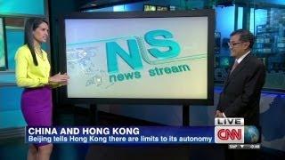 China's warning to Hong Kong