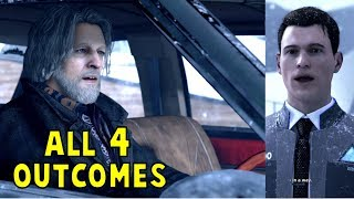 Warm Hank vs Hostile Hank Reaction to New Connor -All 4 Outcomes- Detroit Become Human