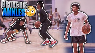 FIRST PRO 5V5 GAME OF 2020 😈 | Jordan Lawley Basketball