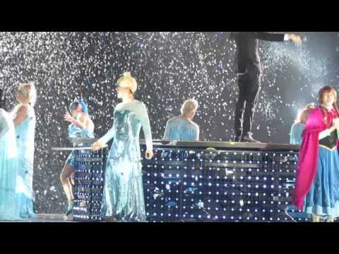 141130 SUPER JUNIOR - let it go @ SS6 in TAIWAN (各個崩壞的Elsa與性感利特XDDD)