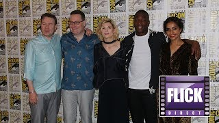 Jodie Whittaker  and The Cast of Doctor Who | Comic Con 2018