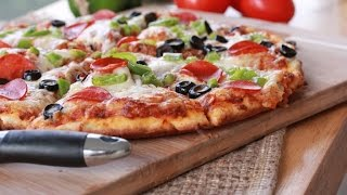 Quick n Easy Homemade Pizza Recipe