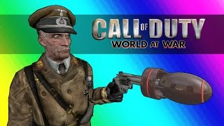 COD Zombies Funny Moments - Nuclear Pack-a-Punch Weapons!