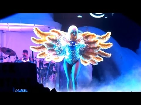 Lady Gaga - ARTPOP LIVE at ARTRAVE @ HOUSTON TOYOTA CENTER JUL 16, 2014