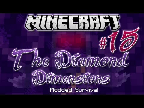 """FAR THE PIGMAN!""   Diamond Dimensions Modded Survival #15   Minecraft - Smashpipe Games"