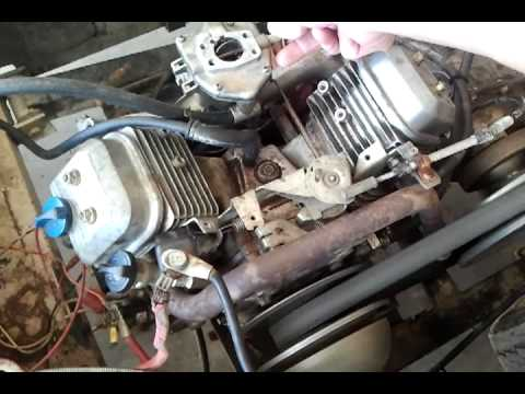 16hp briggs stratton vanguard vtwin bad carb youtube. Black Bedroom Furniture Sets. Home Design Ideas