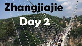 World's tallest and longest Glass Bridge: Zhangjiajie VLOG- Pt 2