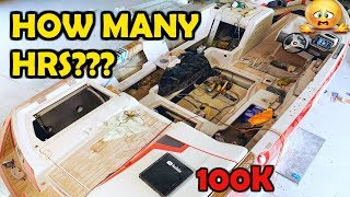 Almost New Flooded Super Boat Copart Rebuild Part 6