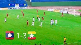Hạ Gục Lào Với Tỷ Số 3-1️⚽Myanmar Xuất Sắc Giành 3 Điểm FULL HD| Vietnam Football