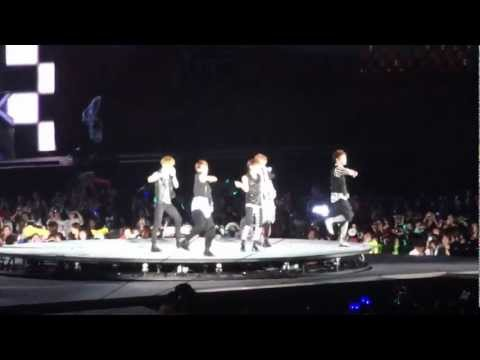 [fancam] 120818 SMT in Seoul Shinee Love like Oxygen