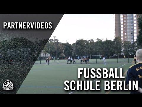 SC Siemensstadt - Hertha BSC (1. Runde, Pokal der B-Junioren 2016/2017) - Spielszenen | SPREEKICK.TV