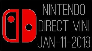 『RSS』Nintendo Direct Mini 18.1.11