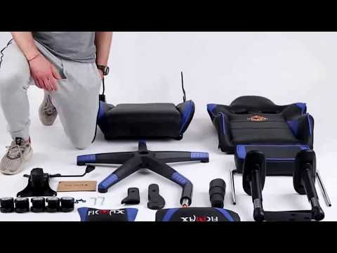 video Ficmax Massage Gaming Chair