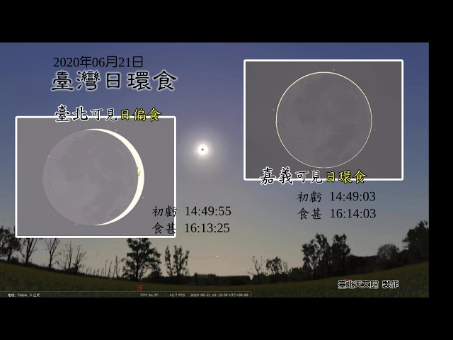 621天文盛事「日環食」在台灣就能看到!錯過要再等200年