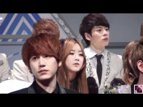 [HD Fancam] 111229 (Kyuhyun Focus) During BE MY BABY & STEP (SBS Gayo Daejun)