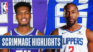 KINGS at CLIPPERS | SCRIMMAGE HIGHLIGHTS | July 27, 2020