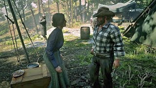 Bill Upset about Arthur's Loyalty / Hidden Dialogue / Red Dead Redemption 2