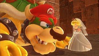 Super Mario Odyssey - Final Boss + Ending