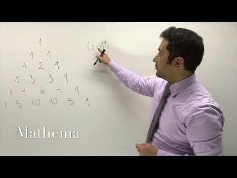Teorema del Binomio 2