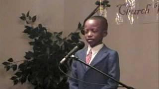10 year old child preacher